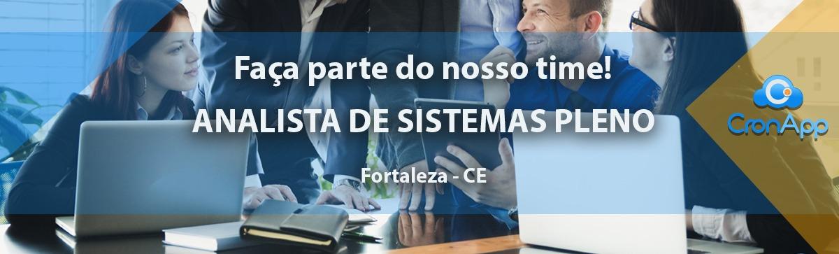 Analista de Sistemas Pleno - CLT - Fortaleza