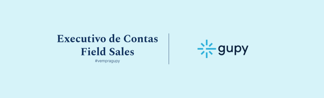 Executivo de Contas Field Sales | Talent Pool