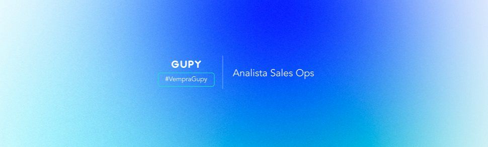 Analista de Sales Ops   Talent Pool