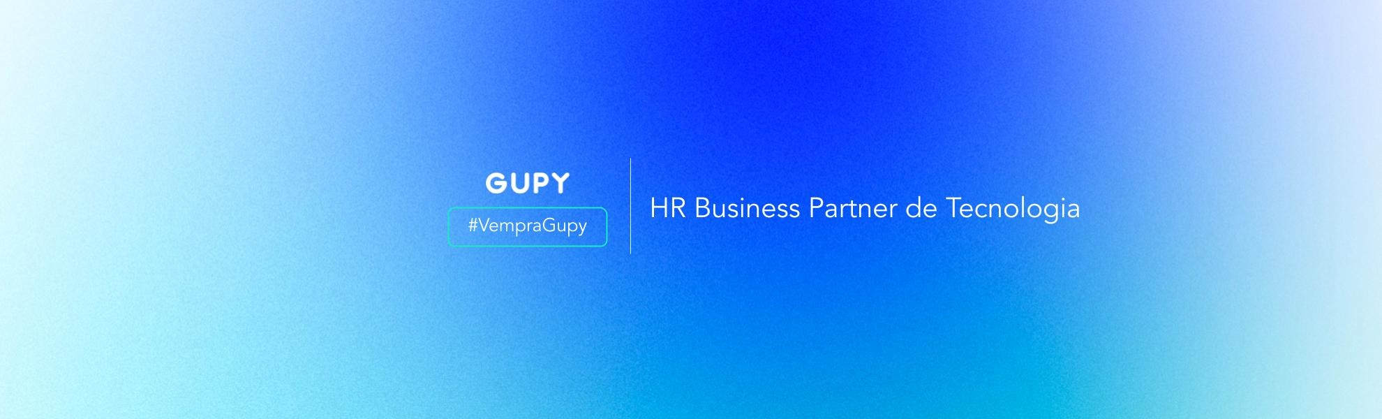HR Business Partner - Tecnologia