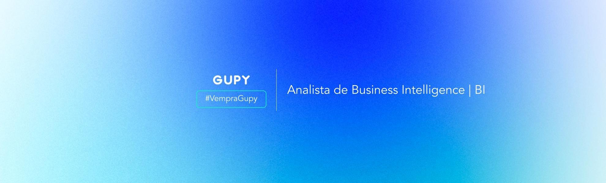 Analista de Business Intelligence | BI