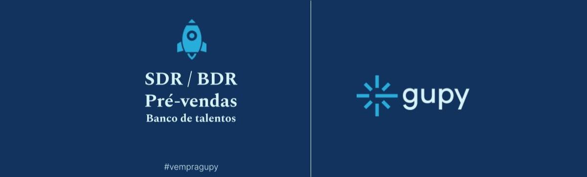 BDR e SDR Pré-vendas Banco de talentos!!