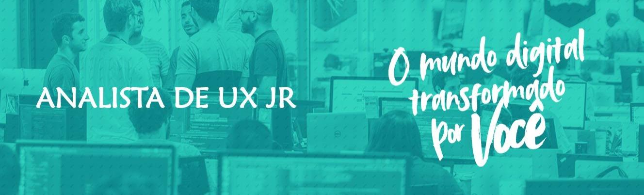 Analista de Experiência do Usuário Jr.