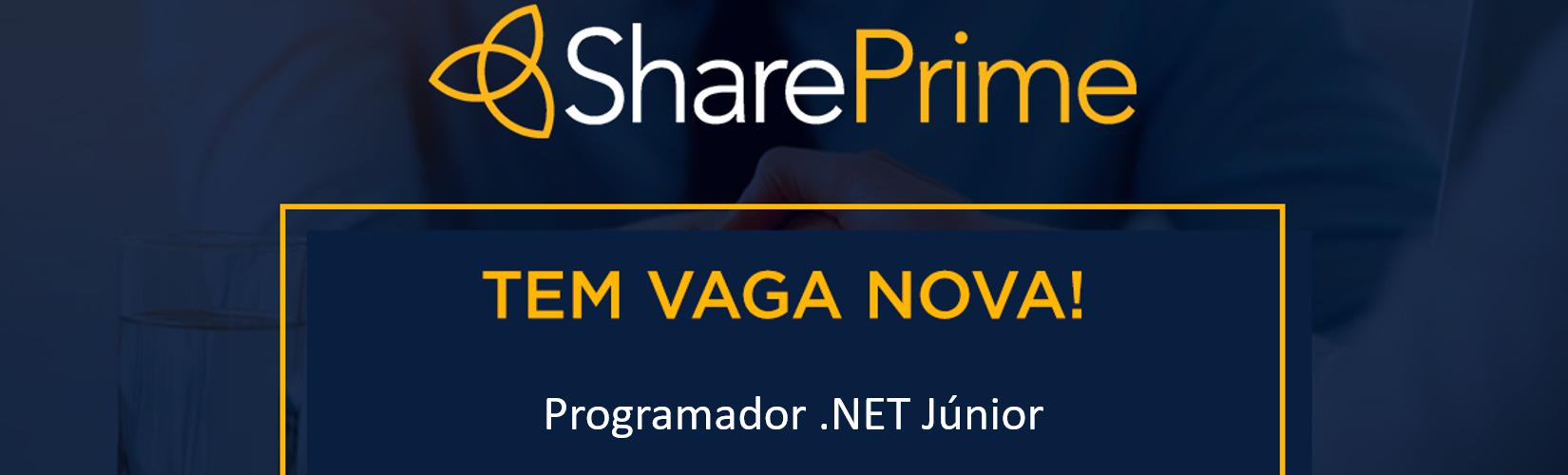 [SHAREPRIME] Programador .NET Júnior