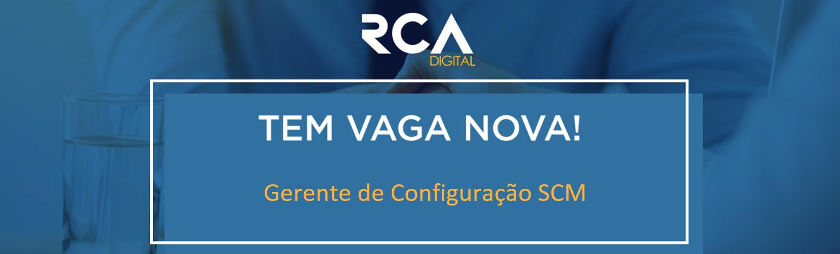 [RCA] - Gerente de Configuração SCM