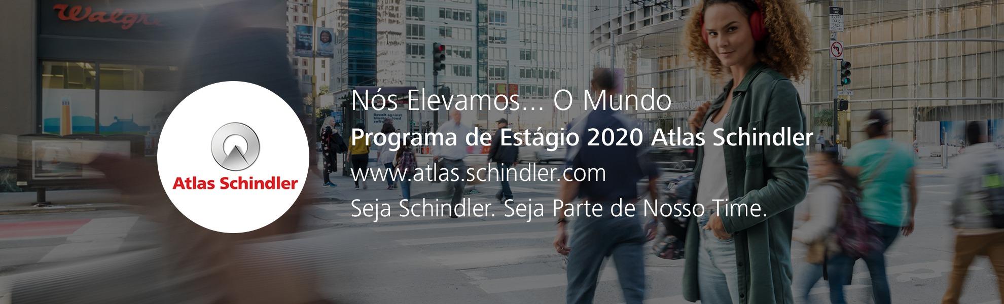 Programa de Estágio 2020 Atlas Schindler