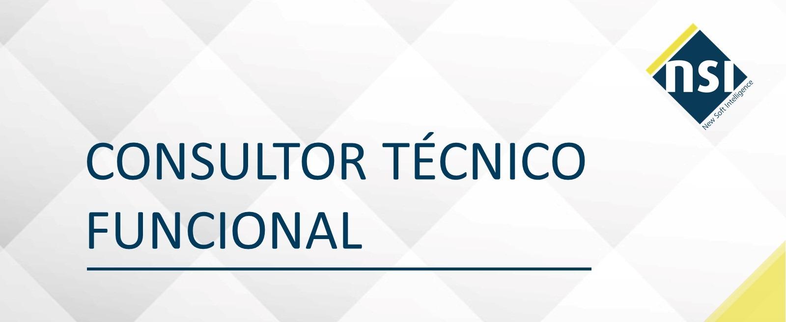 Consultor Técnico Funcional