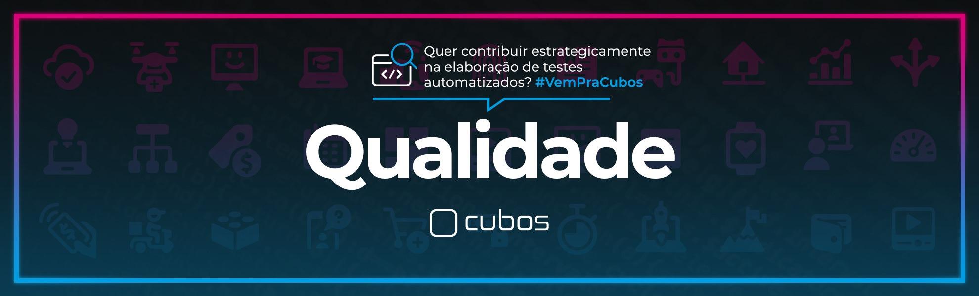 [BANCO DE TALENTOS] Analista de Qualidade de Software (Automação)