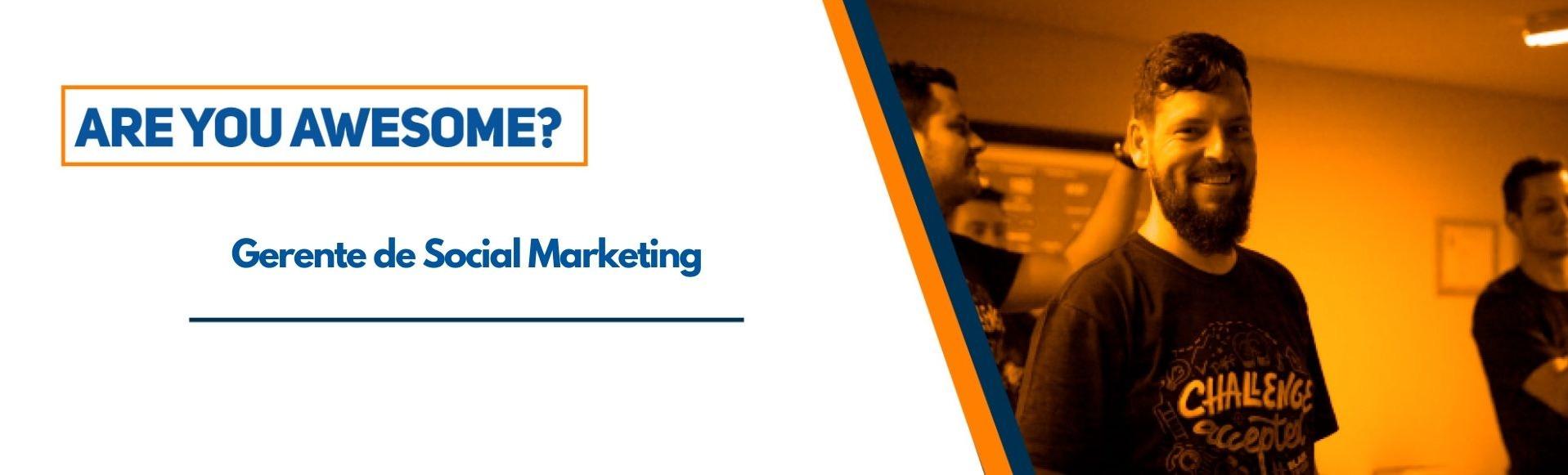 Gerente de Social Marketing