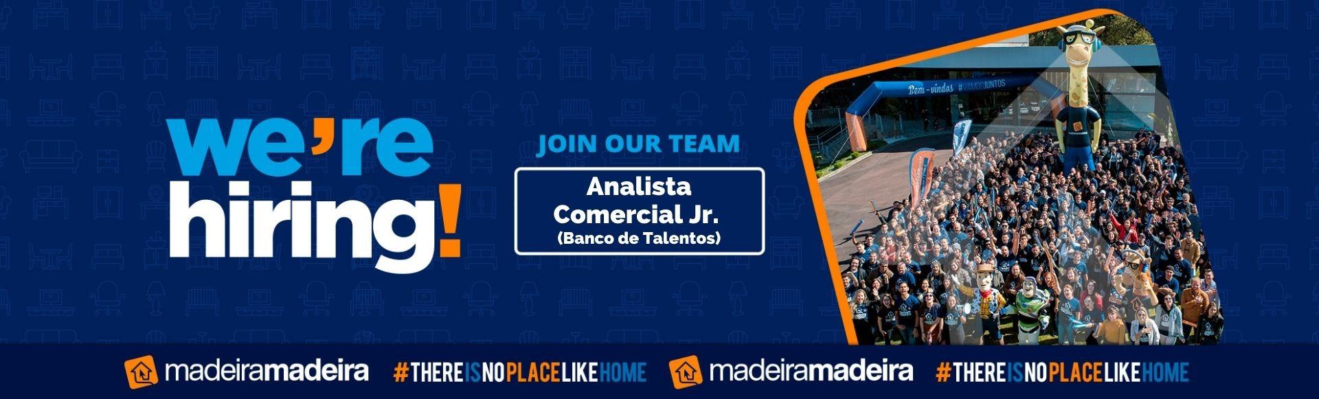 Analista Comercial Junior (Banco de Talentos)