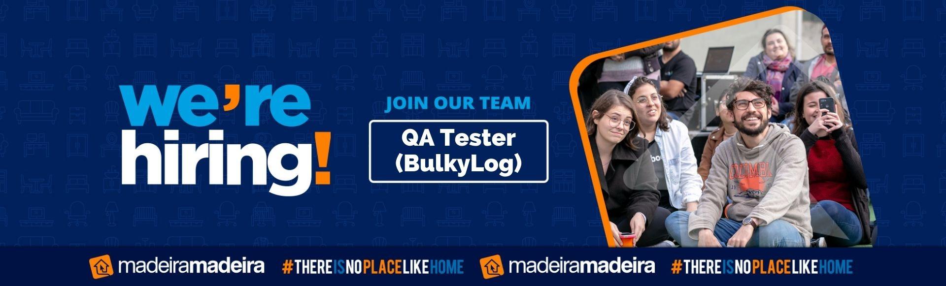 QA Tester (BulkyLog)