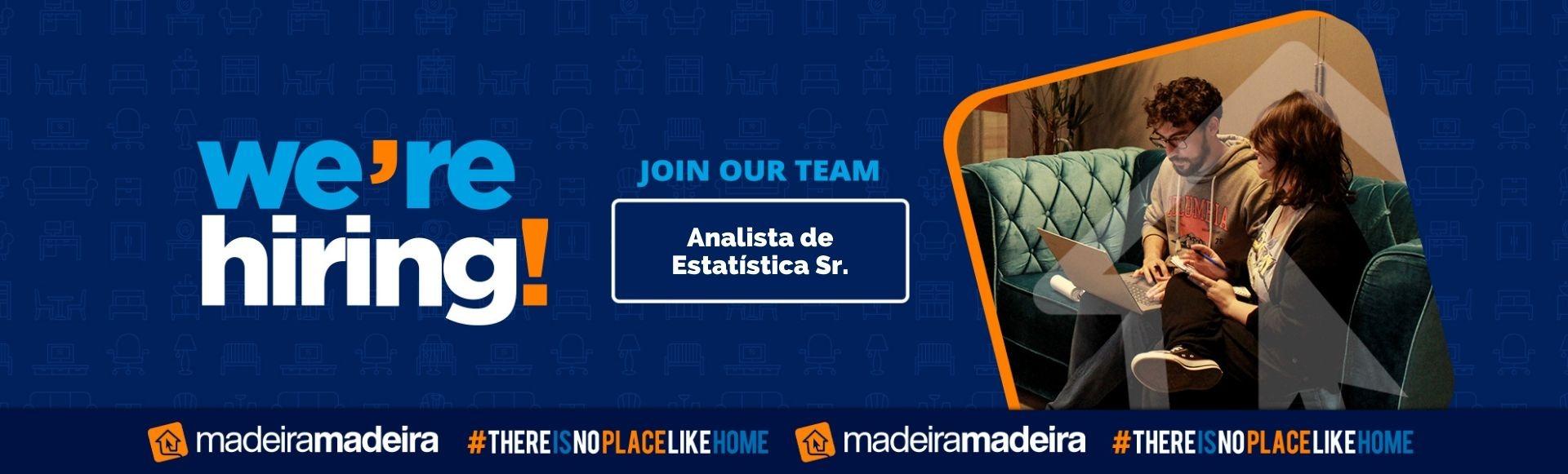 Analista de Estatística Sr.