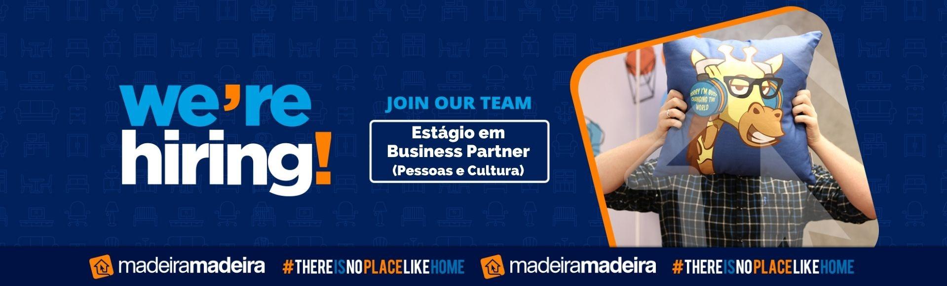 Estágio em Business Partner - Pessoas e Cultura