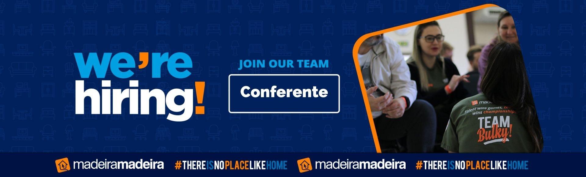 Conferente (Pinhalzinho-SC) - Banco de Talentos