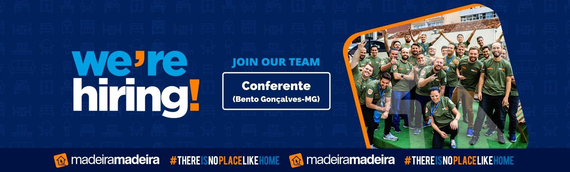 Banco de Talentos - Conferente (Bento Gonçalves-MG)