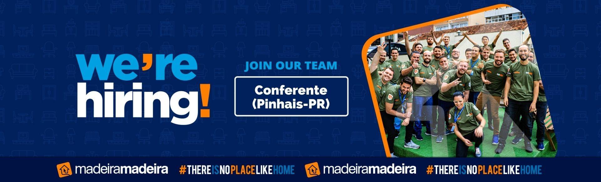 Banco de Talentos - Conferente (Pinhais-PR)