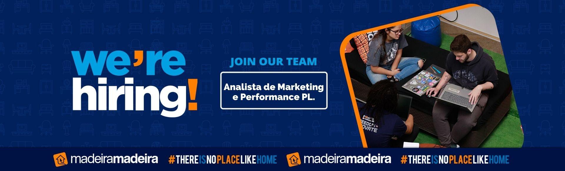 Analista de Marketing e Performance PL