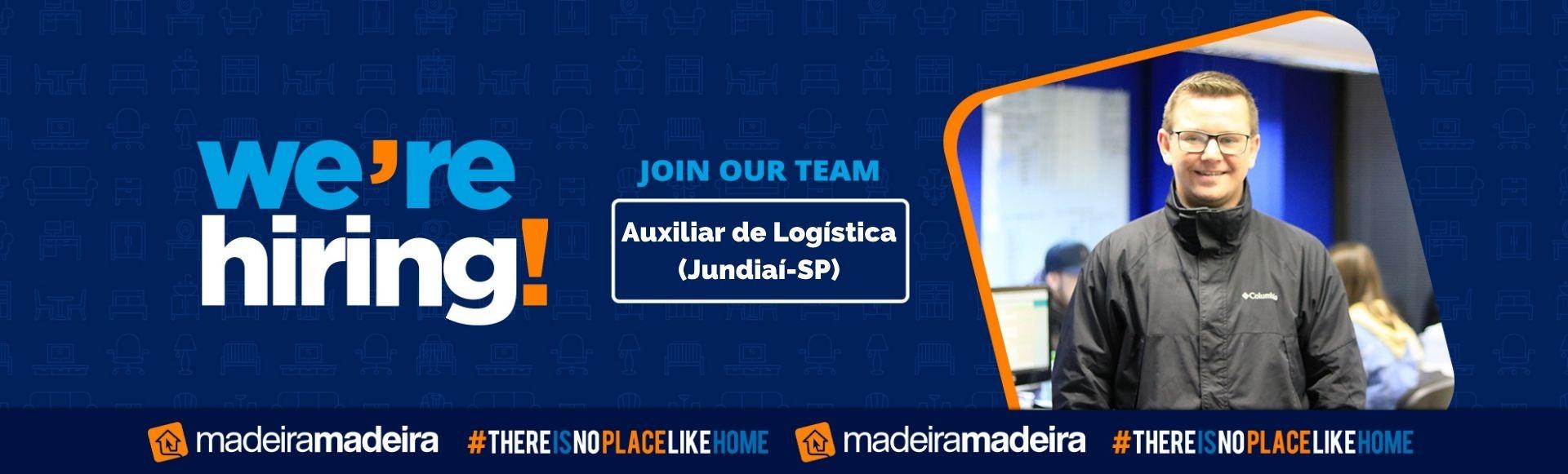 Auxiliar de Logística (Jundiaí-SP)