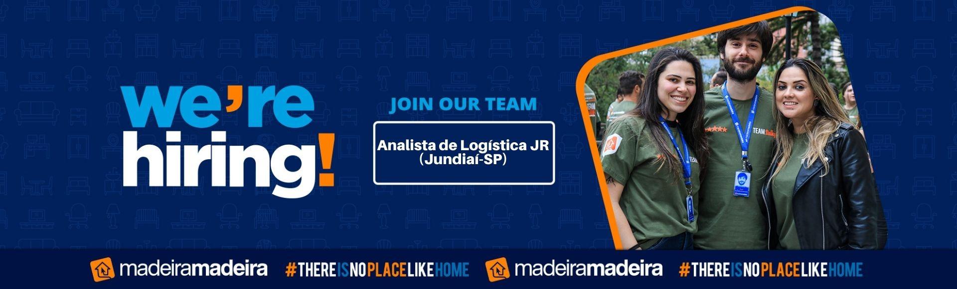 Analista Logística JR. (Jundiaí-SP)
