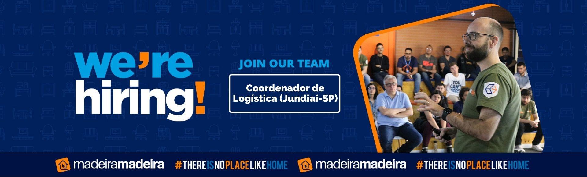 Coordenador de Logística (Jundiaí-SP)