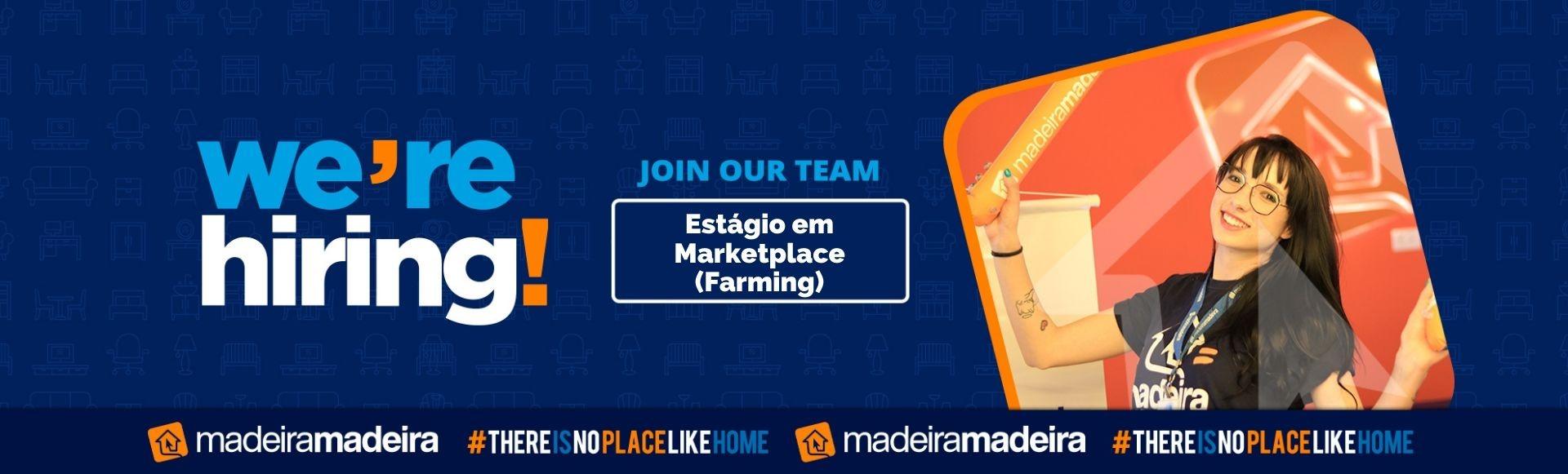 Estágio em Marketplace - Farming (Curitiba-PR)