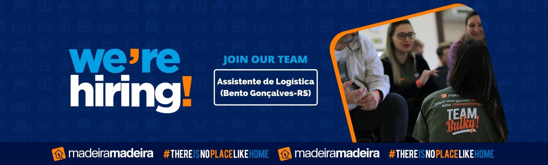 Assistente de Logística (Bento Gonçalves-RS)