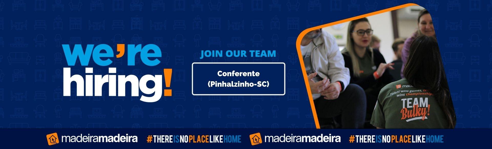Conferente (Pinhalzinho-SC)