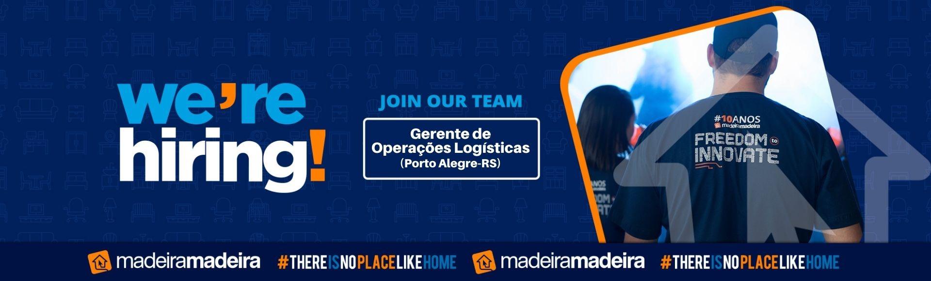 Gerente de Operações Logísticas (Porto Alegre-RS)