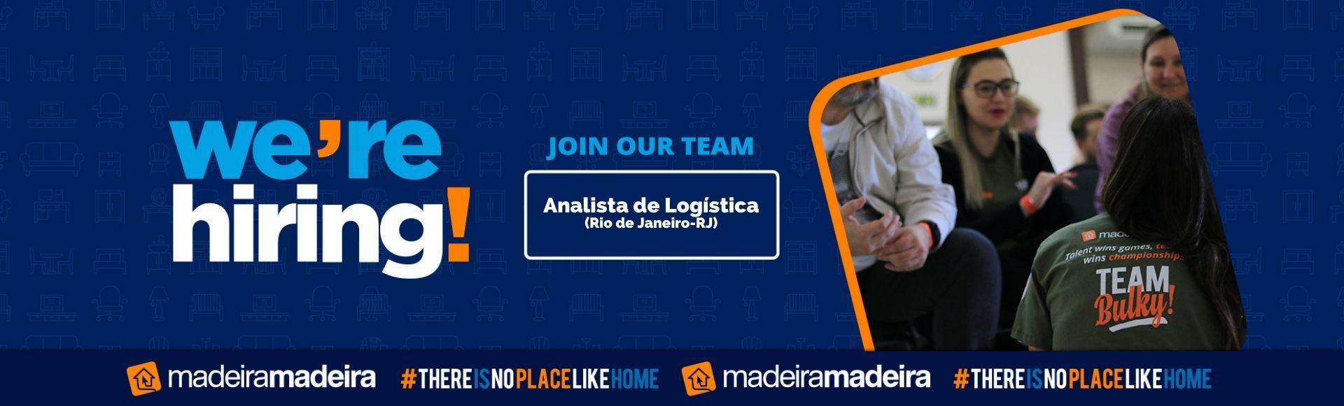 Analista de Logística (Rio de Janeiro-RJ)