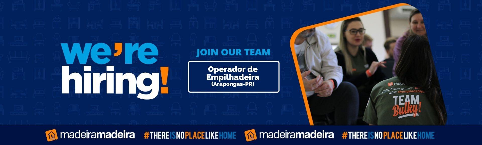 Operador de Empilhadeira (Arapongas-PR)