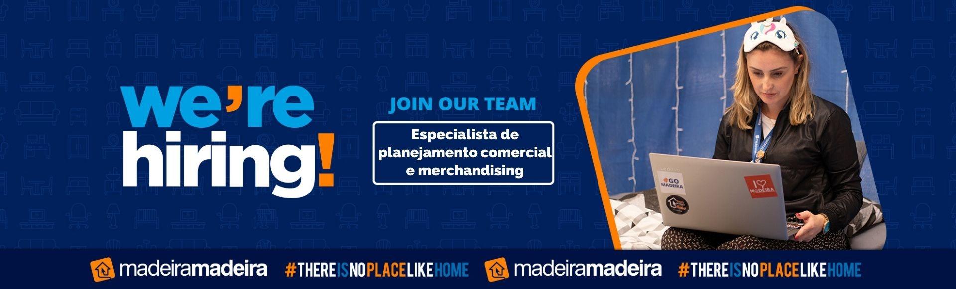 Especialista de planejamento comercial e merchandising