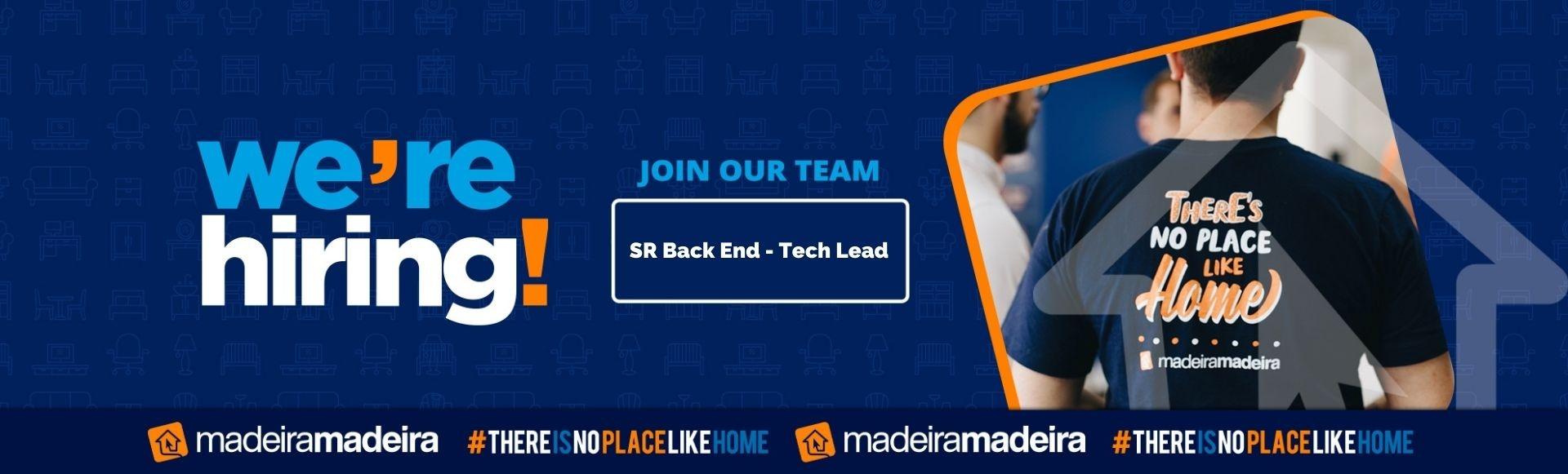 SR Back End - Tech Lead
