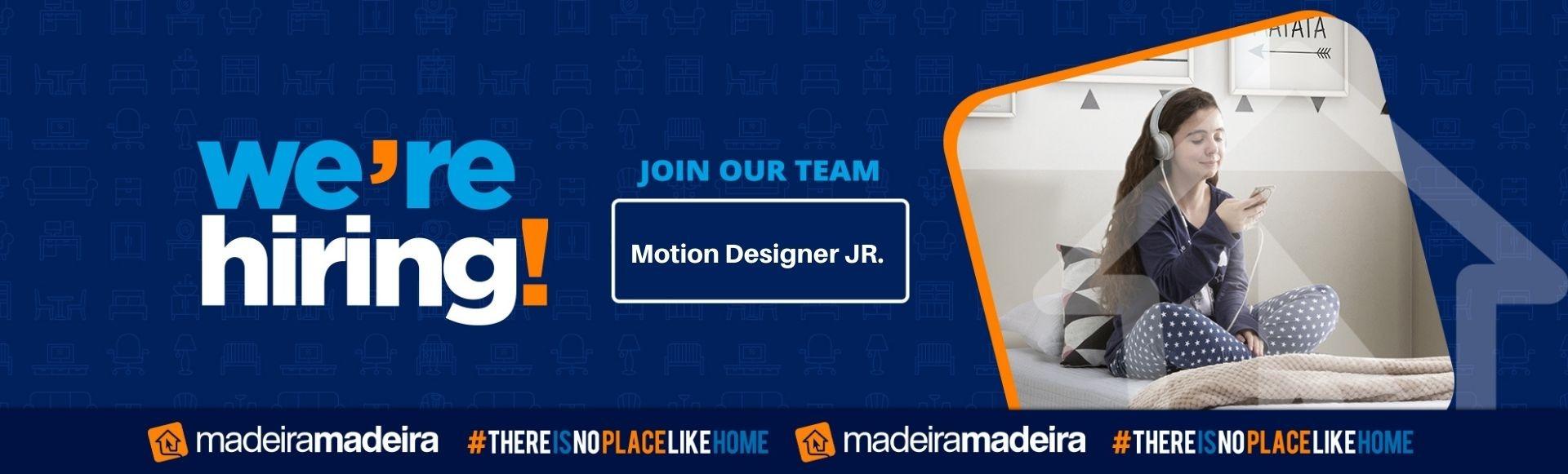 Motion Designer JR