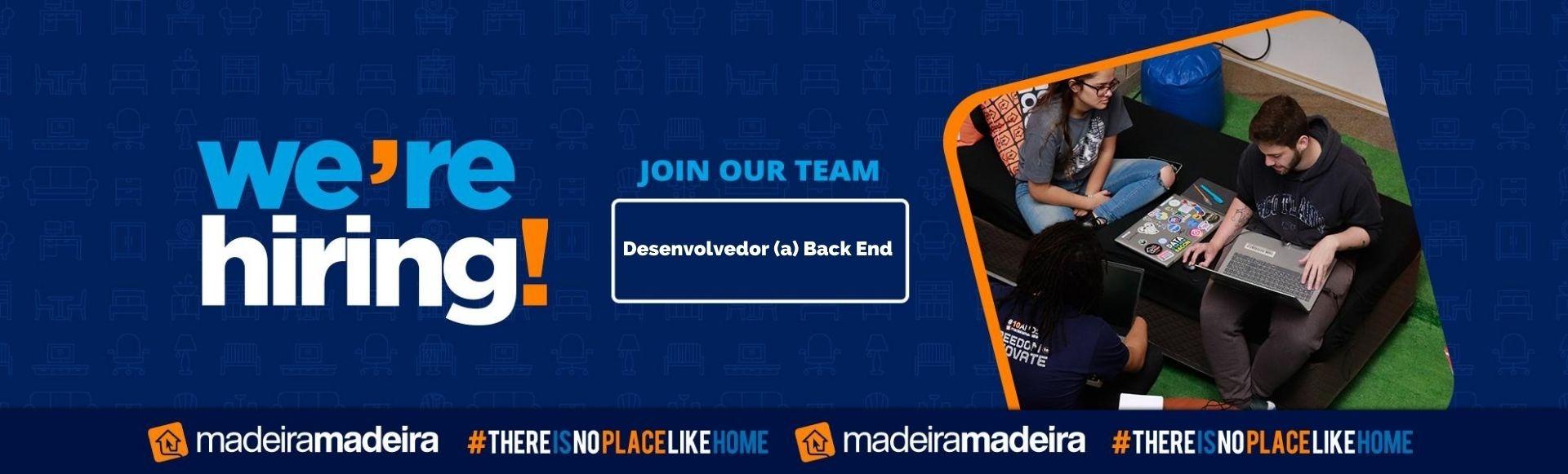 Desenvolvedor (a) Back End