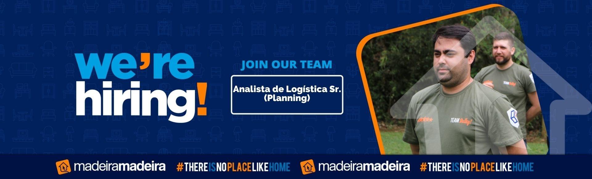 Analista de Logística Sr. (Planning)