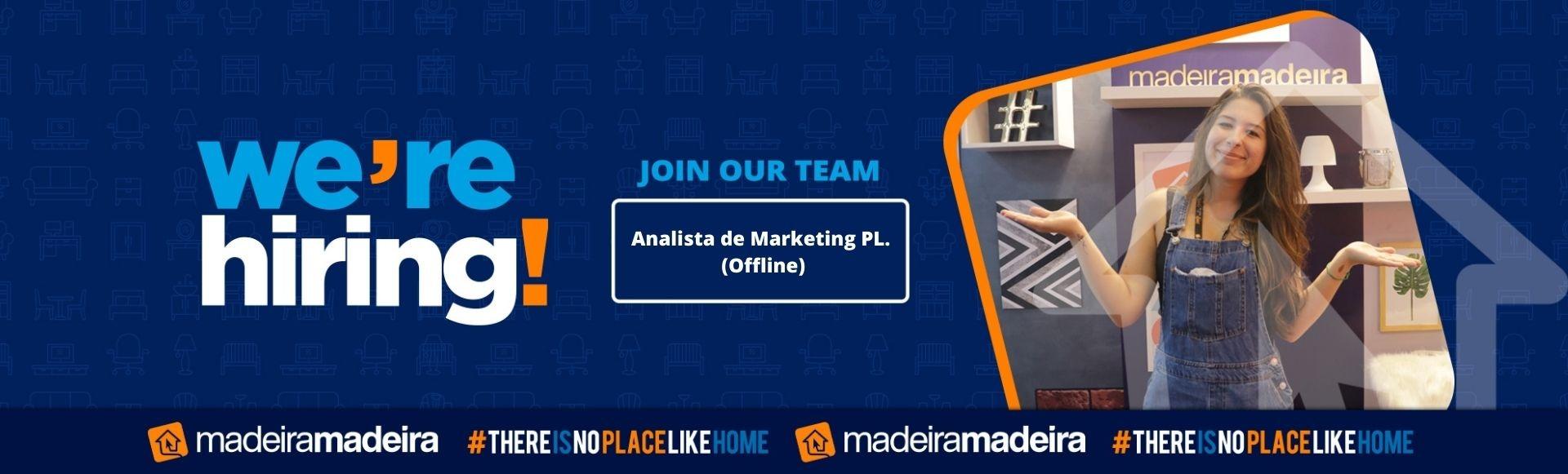 Analista de Marketing PL (Offline)