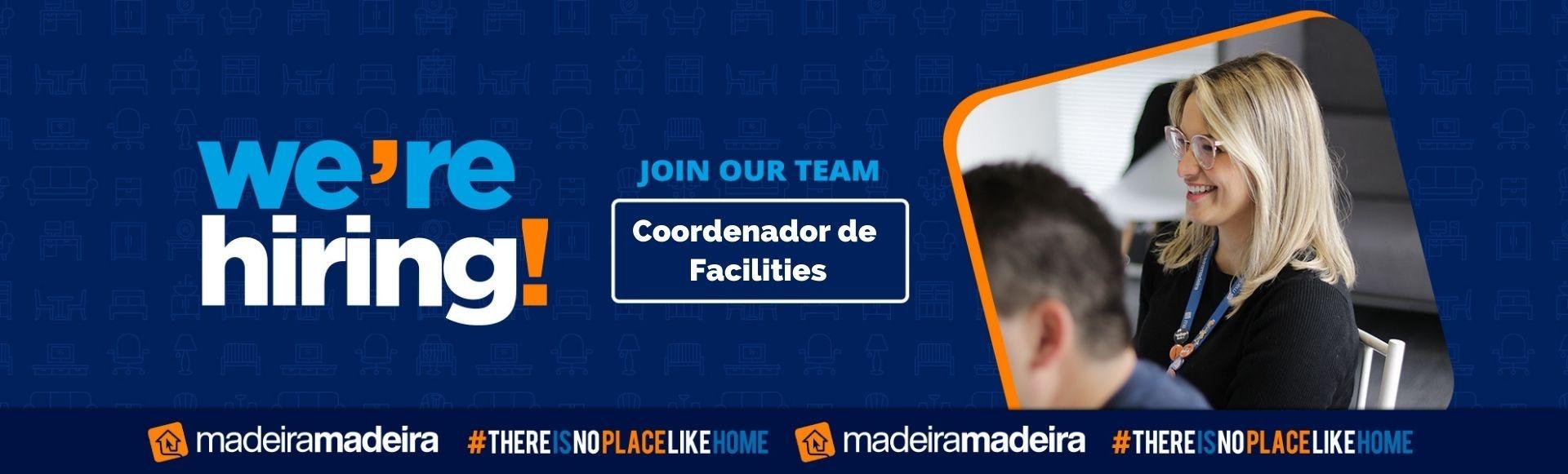 Coordenador de Facilities / SP