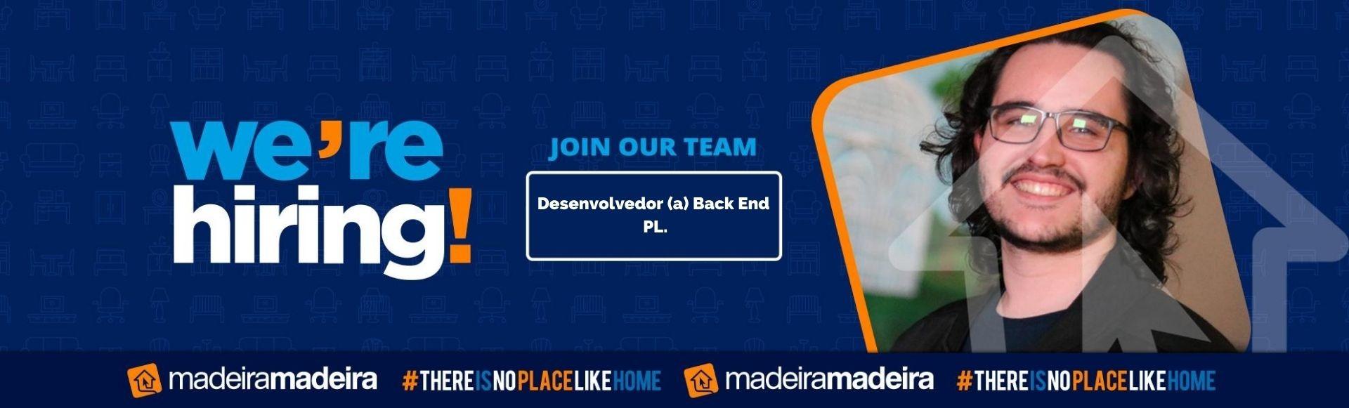 Desenvolvedor (a) Back End PL
