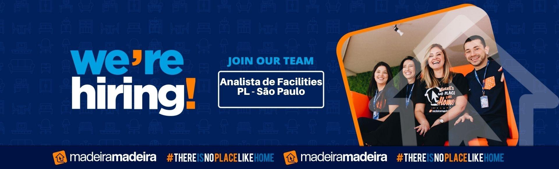 Analista de Facilities  PL - Inspeção  (São Paulo - SP)