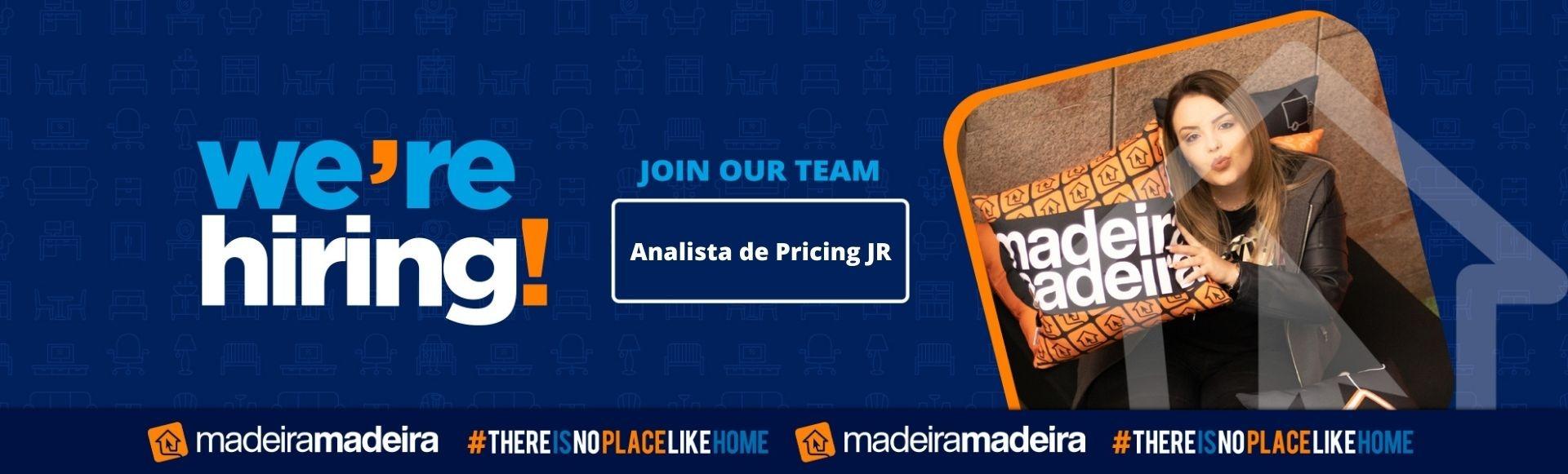 Analista de Pricing JR
