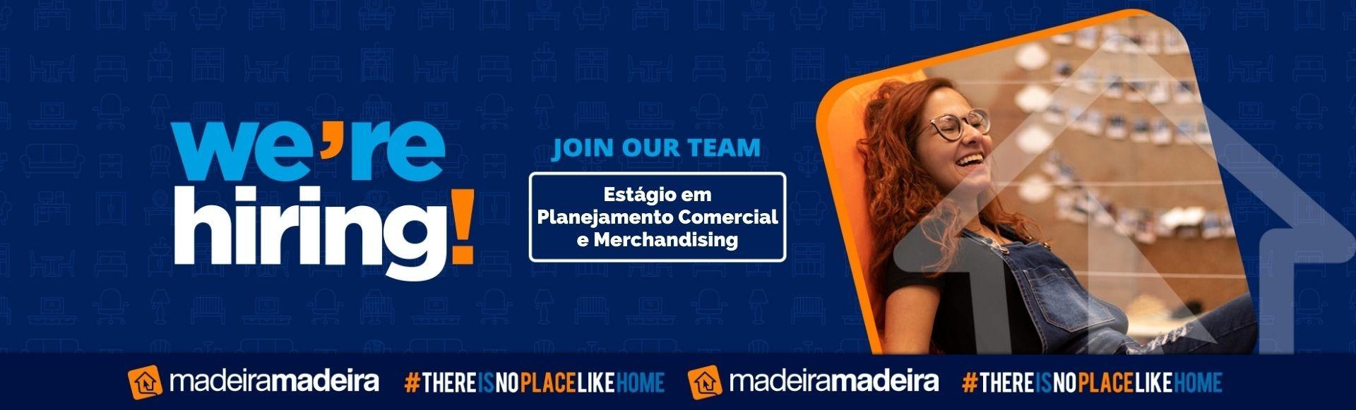 Estágio em Planejamento Comercial e Merchandising