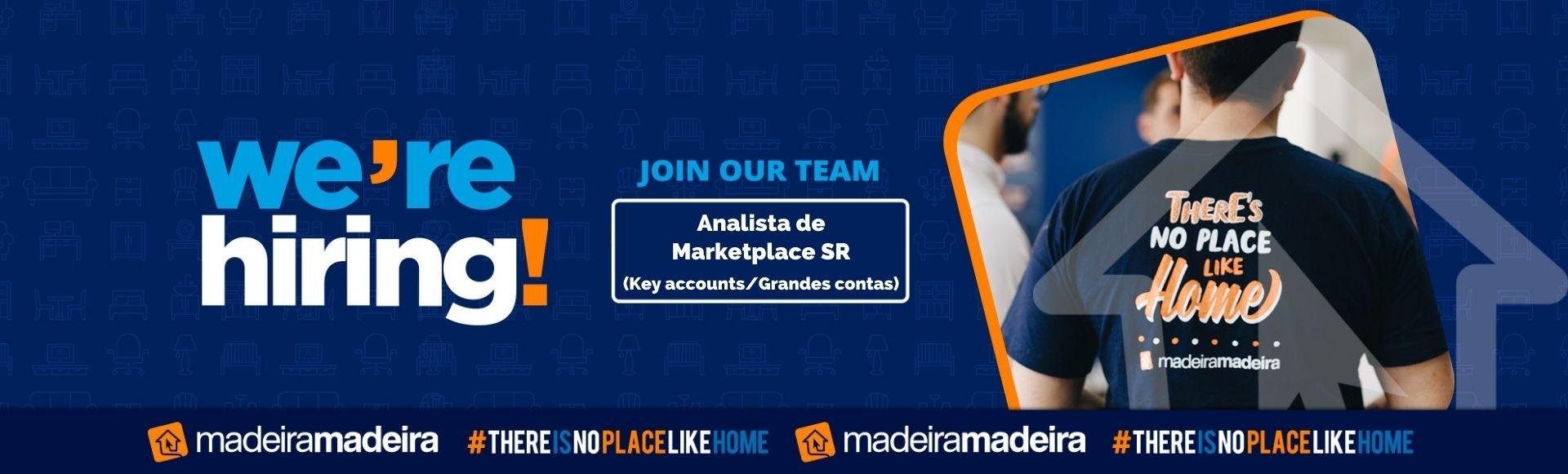 Analista de Marketplace SR (Key accounts / Grandes contas)
