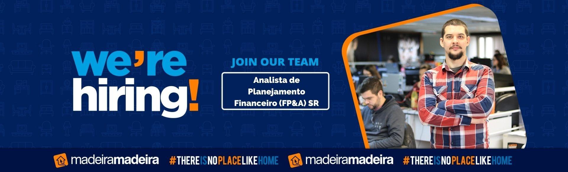 Analista de Planejamento Financeiro (FP&A) SR