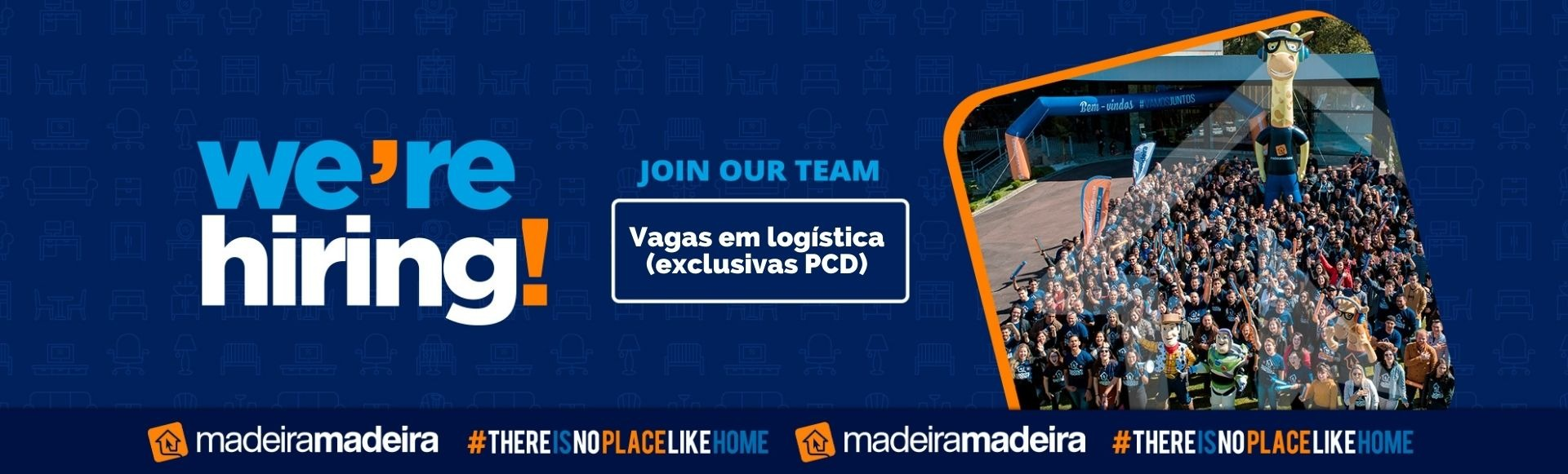 Vagas em logística - exclusivas PCD (Curitiba-PR)