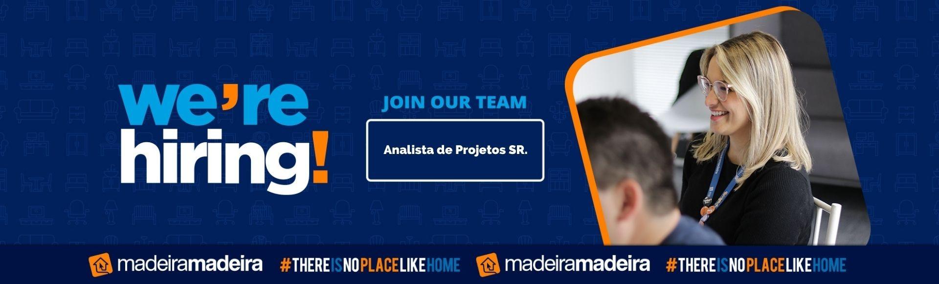 Analista de Projetos SR