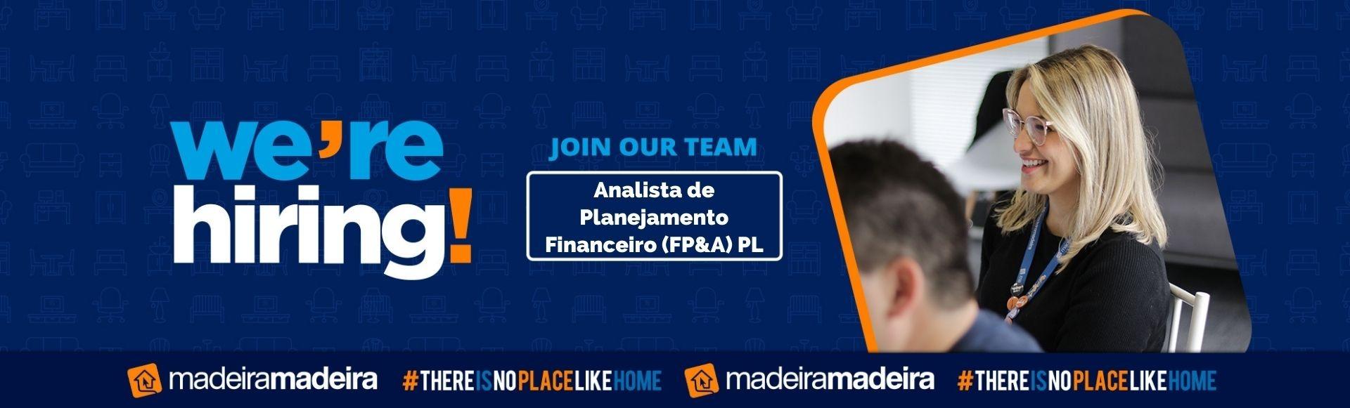 Analista de Planejamento Financeiro (FP&A) PL