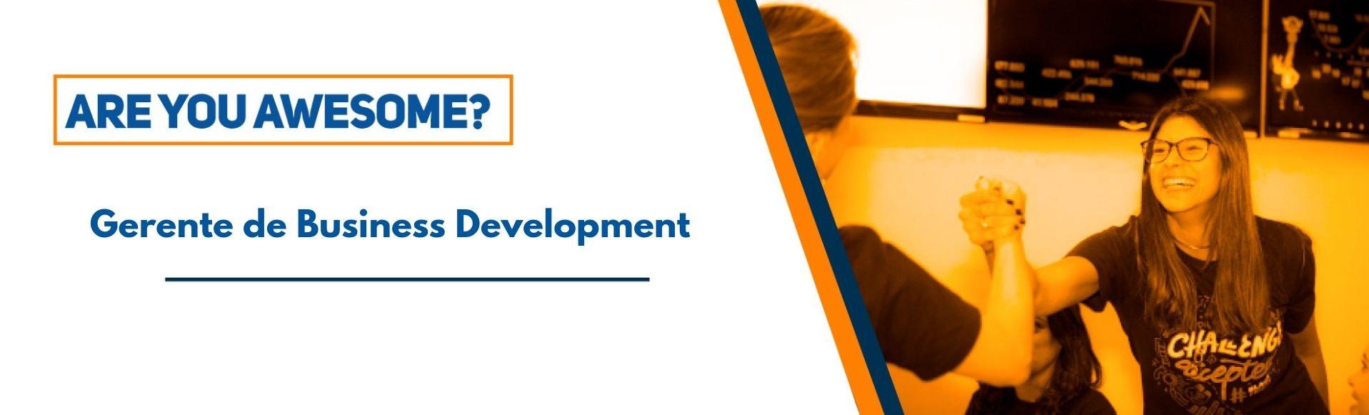 Gerente de Business Development