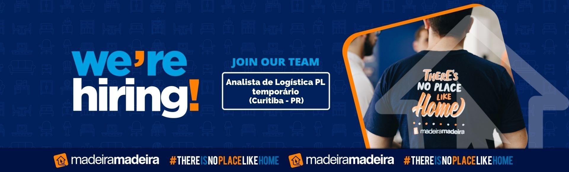 Analista de Logística PL temporário (Curitiba-PR)