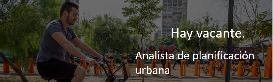 Analista de planificación urbana (Santiago de Chile)