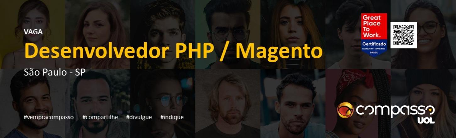 Desenvolvedor PHP / Magento